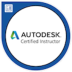 "By Autodesk - LOGO ""Certified Instructor"" - klein"